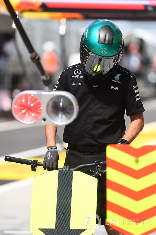 Mercedes AMG F1 W08 mecánico