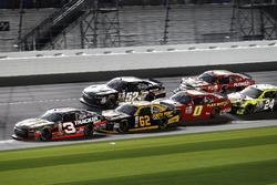 Ty Dillon, Richard Childress Racing Chevrolet; Brendan Gaughan, Richard Childress Racing Chevrolet; Joey Gase, Chevrolet; Garrett Smithley, Chevrolet