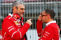 Maurizio Arrivabene, jefe de equipo e Ferrari