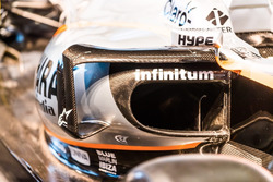 Force India VJM10: Seitenkasten