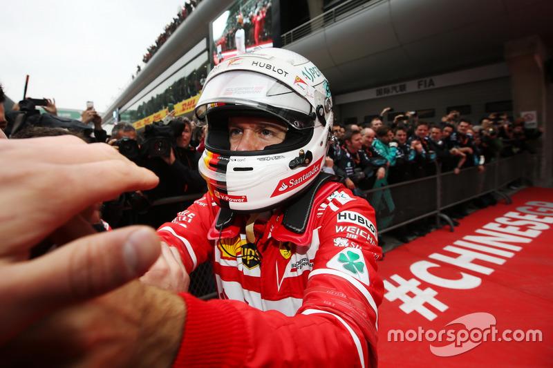 2 місце — Себастьян Феттель, Ferrari. Умовний бал — 46,354