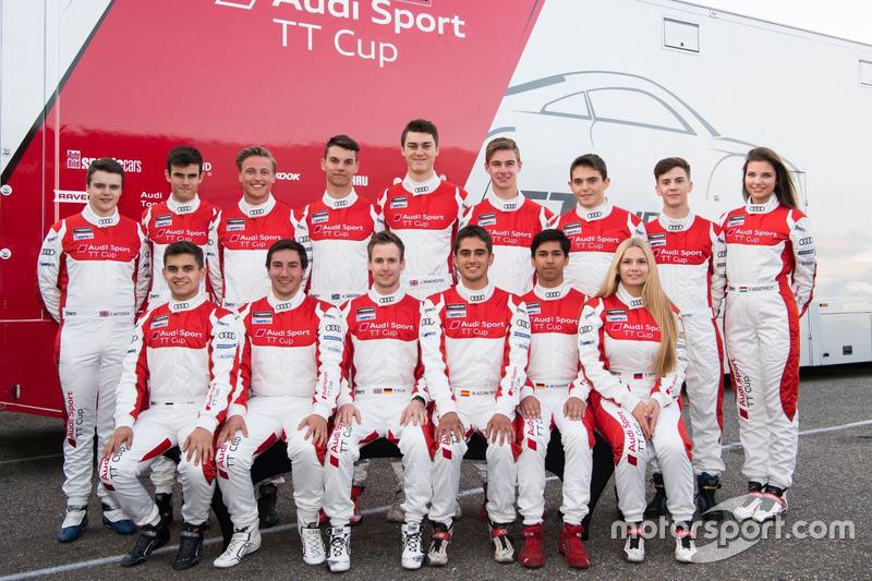 Участники Audi TT Cup 2017 года