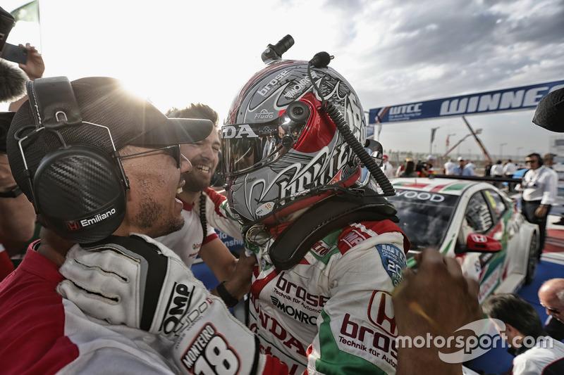1. Tiago Monteiro, Honda Racing Team JAS, Honda Civic WTCC