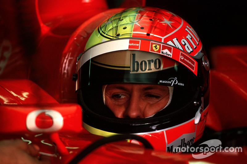 Formula 1 Gallery: Michael Schumacher's F1 helmets
