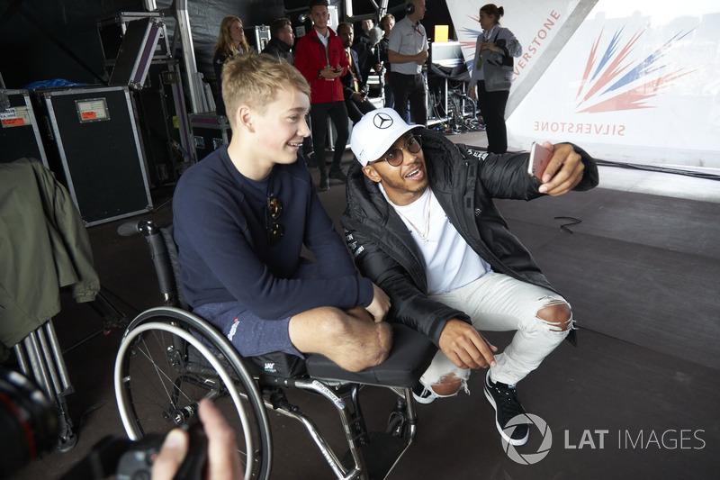 Lewis Hamilton, Mercedes AMG F1, Billy Monger