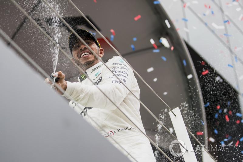 El gander Lewis Hamilton, Mercedes AMG F1