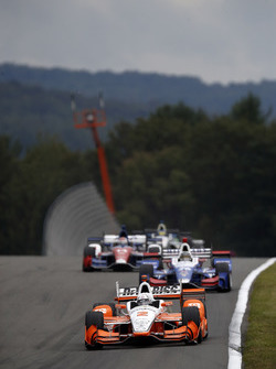 Josef Newgarden, Team Penske Chevrolet, Takuma Sato, Andretti Autosport Honda