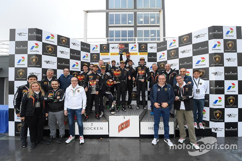 2016 Lamborghini Blancpain Super Trofeo ganadores
