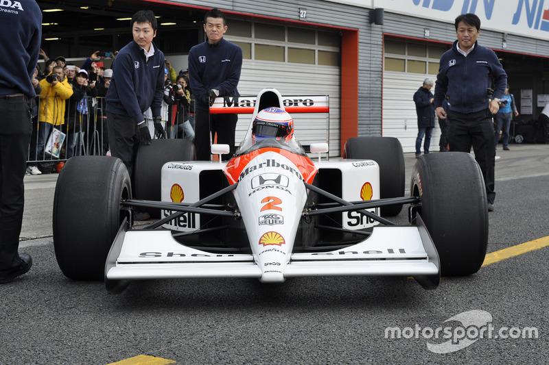 Jenson button, McLaren MP4/6 Honda