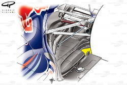 Red Bull RB7 blown diffuser
