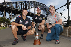 Jamie Whincup, Triple Eight Race Engineering Holden, Shane van Gisbergen, Triple Eight Race Engineering Holden, Craig Lowndes, Triple Eight Race Engineering Holden