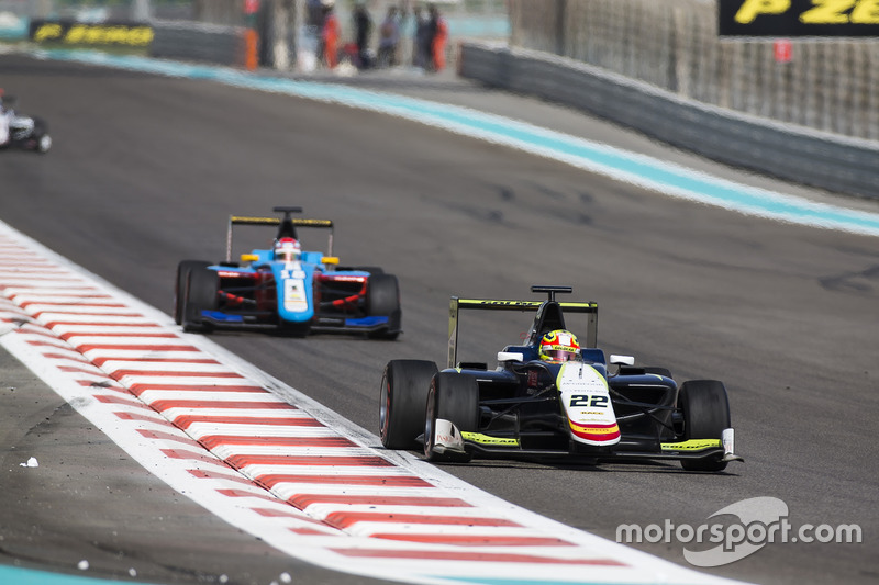 Alex Palou, Campos Racing y Akash Nandy, Jenzer Motorsport