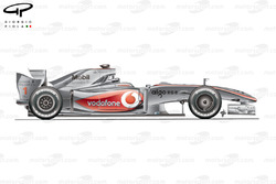 McLaren MP4-24 side view