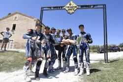 Les participants à la quatrième édition du Yamaha VR46 Master Camp