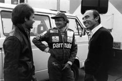 Peter Windsor, Niki Lauda, McLaren y Frank Williams, Williams
