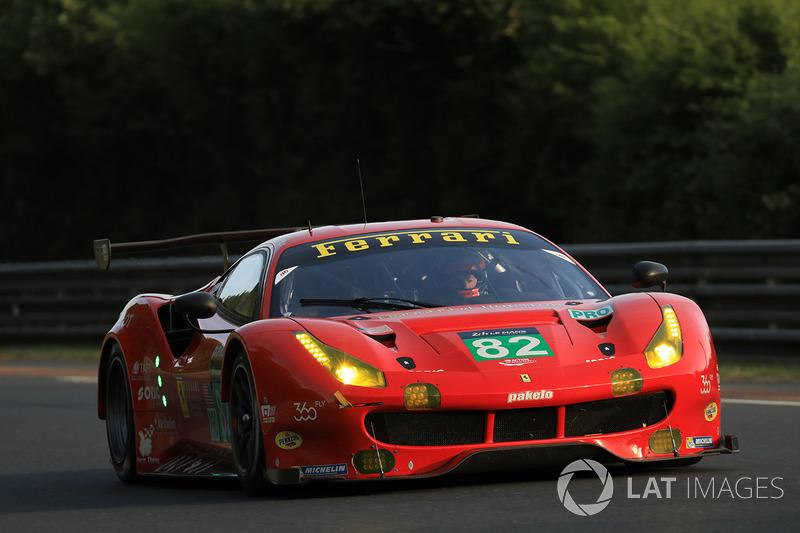 Ausfall LMGTE-Pro: #82 Risi Competizione, Ferrari 488 GTE