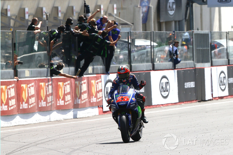 Maverick Viñales, Yamaha Factory Racing takes the win