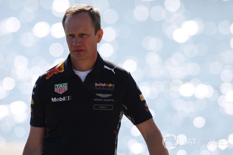 Paul Monaghan, Chefingenieur, Red Bull Racing