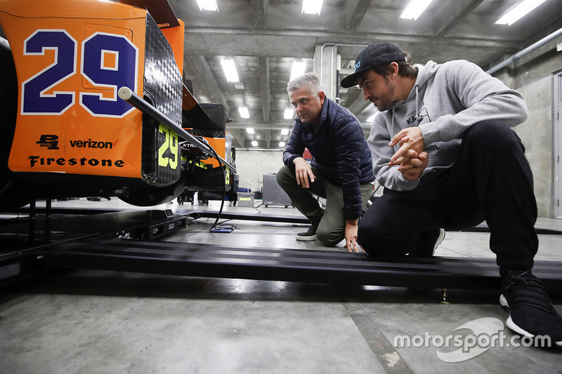Фернандо Алонсо, Andretti Autosport Honda и Жиль де Ферран