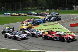 #28 IDEC Sport Racing, Ligier JSP217 - Gibson: Патрис Лафарг, Давид Золлингер, Поль Лафарг
