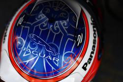 Шлем пилота Jaguar Racing Митча Эванса