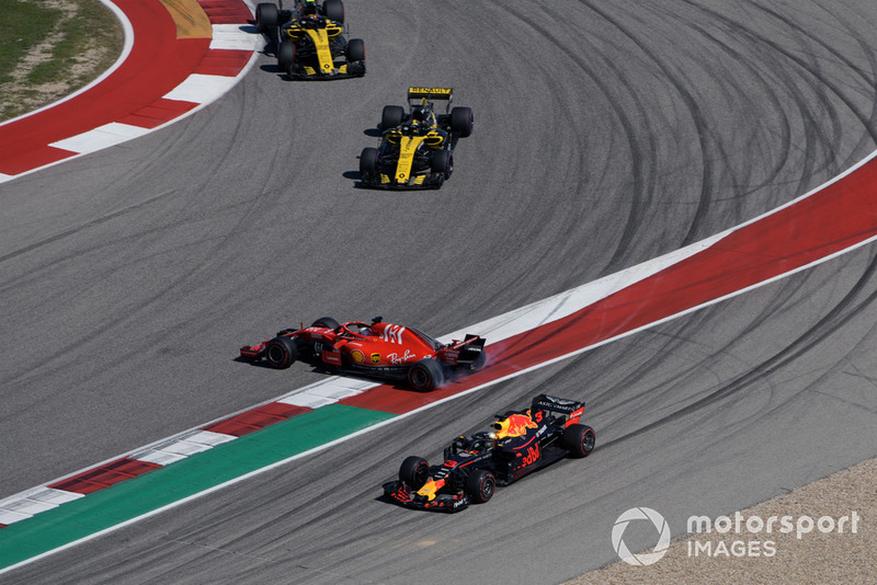 P4: Sebastian Vettel, Ferrari SF71H