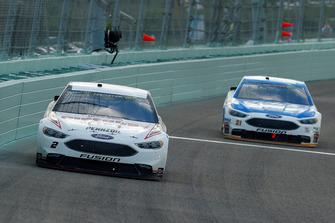 Brad Keselowski, Team Penske, Ford Fusion Discount Tire, Paul Menard, Wood Brothers Racing, Ford Fusion Quick Lane Tire & Auto Center