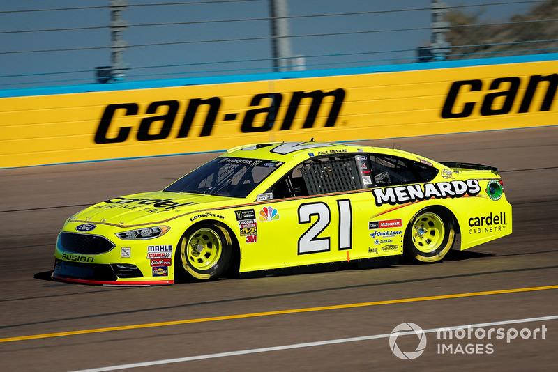 11. Paul Menard, Wood Brothers Racing, Ford Fusion Menards / Cardell