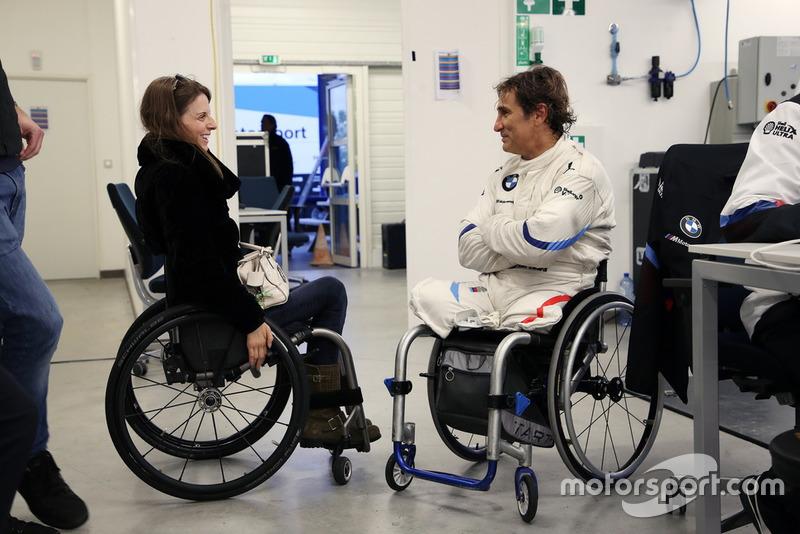 Наталі Макглойн, Комісія з обмеженості та доступності FIA, Алекс Дзанарді, BMW M8 GTE