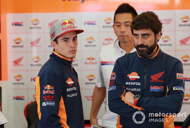 Марк Маркес, Repsol Honda Team, Санті Ернандес, керівник команди Марка Маркеса, Repsol Honda Team