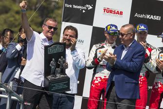 Podio: Tommi Makinen, Toyota Gazoo Racing
