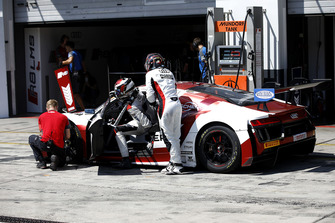 #5 Phoenix Racing Audi R8 LMS: Philip Ellis, Max Hofer