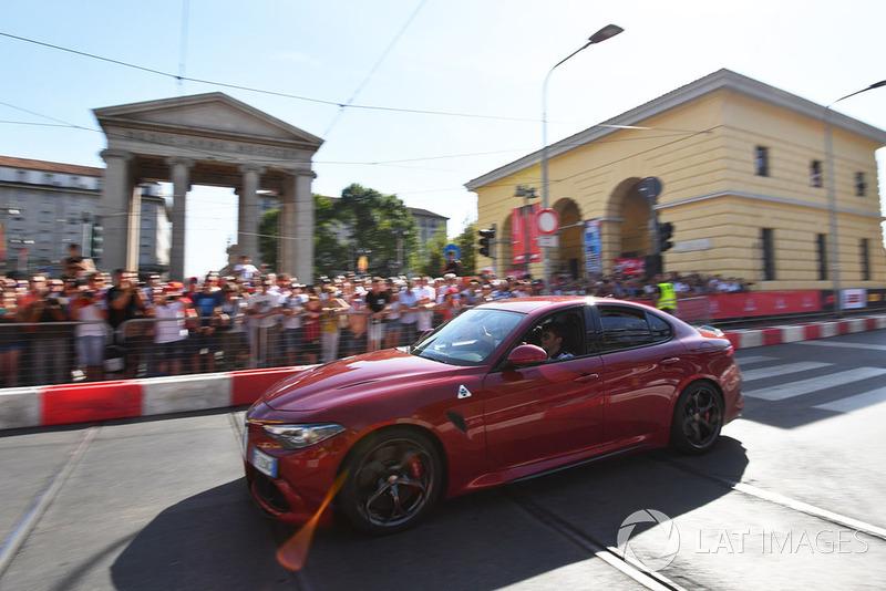 Шарль Леклер, Sauber Alfa Romeo Quadrifoglio