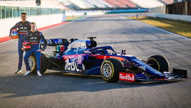 Alex Albon, Scuderia Toro Rosso, Daniil Kvyat, Scuderia Toro Rosso, Scuderia Toro Rosso STR14