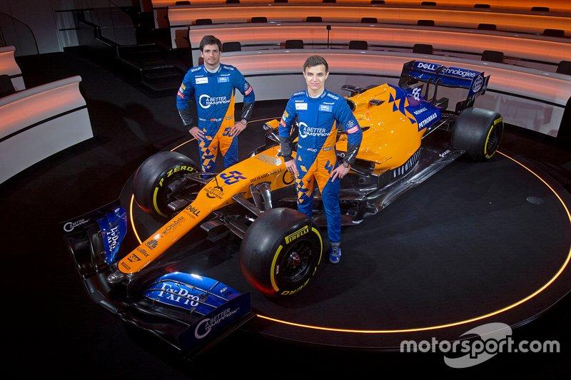 Ландо Норріс, Карлос Сайнс-мол., McLaren