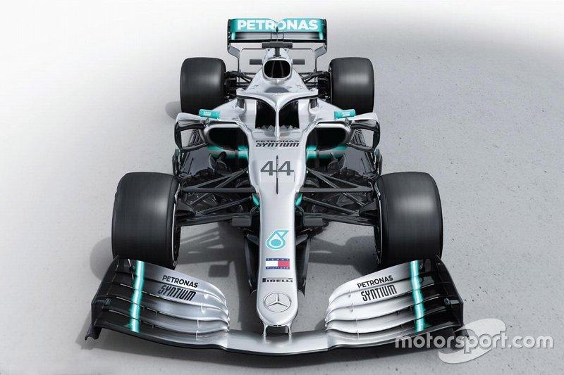 2019: Mercedes F1 W10 EQ Power+