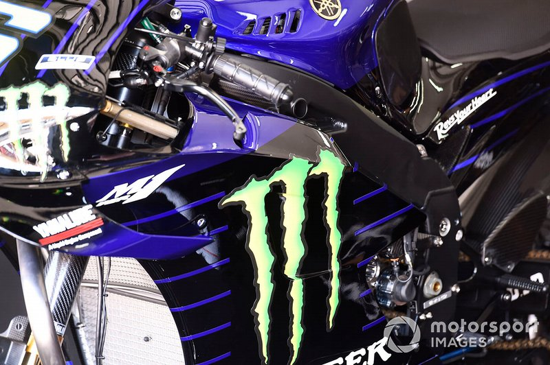 Yamaha Factory Racing detalle