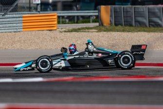 Colton Herta, Harding Steinbrenner Racing Honda s'arrête en piste