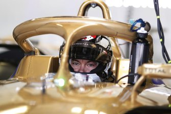 Andre Lotterer, DS TECHEETAH, DS E-Tense FE19 sits in his car