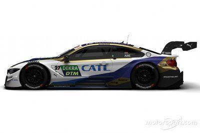 Decoración de BMW Motorsport para el DTM 2020