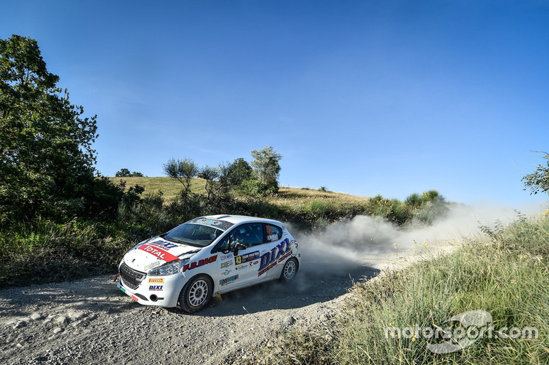 Fabio Battilani, Jasmine Manfredi, Peugeot 208 R2B, Eventi Sport Racing
