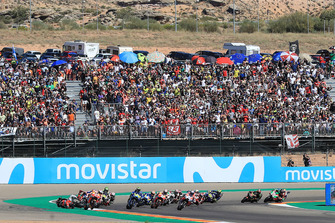 Jorge Lorenzo, Ducati Team crasht bij de start
