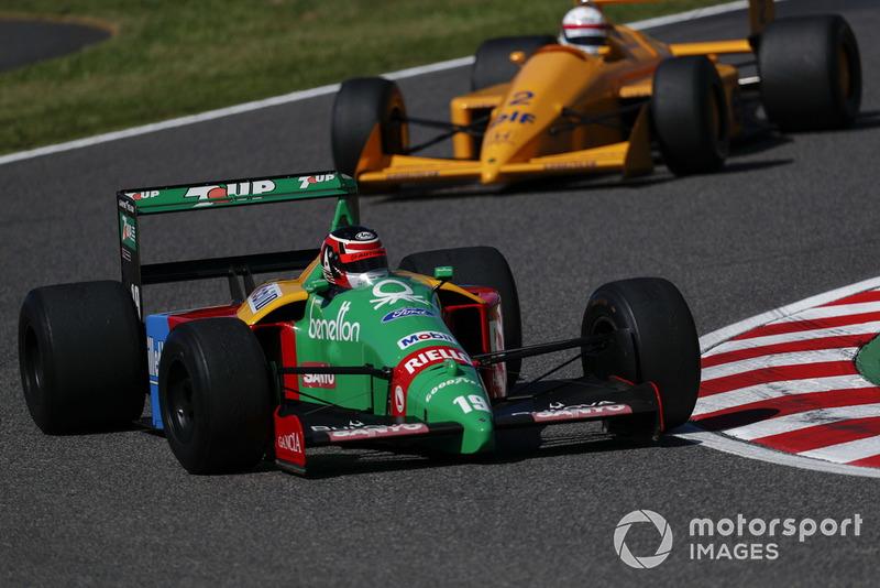 Агури Сузуки, Benetton B188 Ford, демонстрационные заезды Legends F1 30th Anniversary