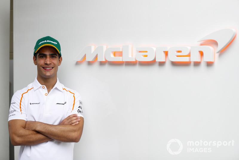 Sergio Sette Camara, piloto de desarrollo y pruebas de McLaren