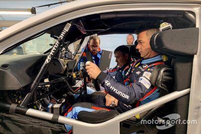Loeb Hyundai Fransa testi