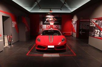 The 'Michael 50' exhibition in the Ferrari Museum in Maranello