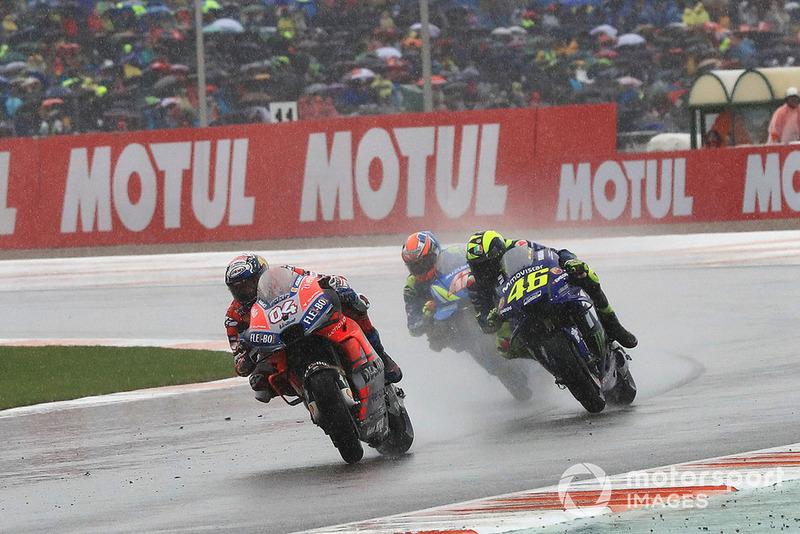 Andrea Dovizioso, Ducati Team, Valentino Rossi, Yamaha Factory Racing, Alex Rins, Team Suzuki MotoGP