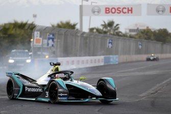 Nelson Piquet Jr., Jaguar Racing, Jaguar I-Type 3, bloque ses freins