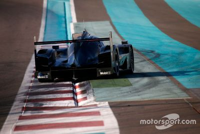 Porsche Abu Dhabi februari test