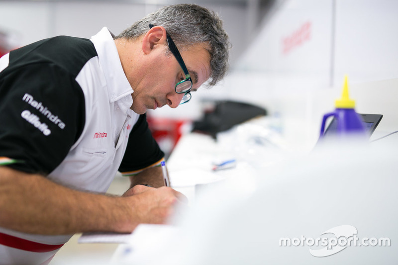 Claudio Corradini, operations manager della Mahindra Racing di Formula E